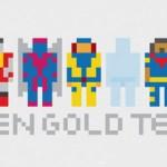 Superheroes y personajes de comics, anime y series estilo Pixel Art