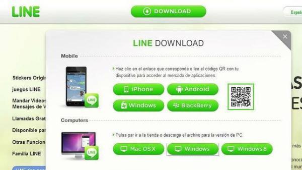 Cómo descargar e instalar Line en el ordenador