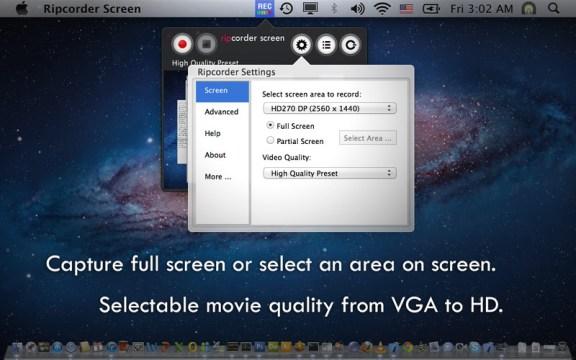 rip screen mac