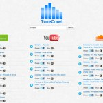 TuneCrawl: Metabuscador que permite escuchar música de Spotify, YouTube y SoundCloud desde un solo lugar