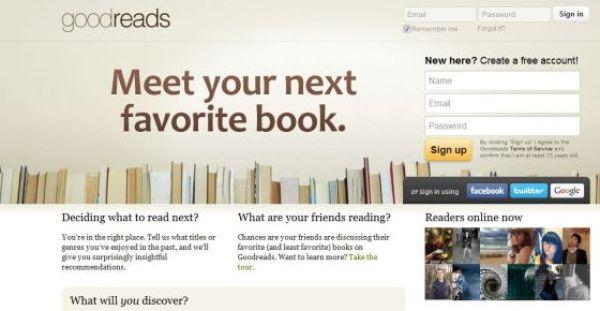 Goodreads ahora pertenece a Amazon