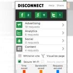 Disconnect: Te protege del trackeo de los sitios que visitas y acelera la navegación