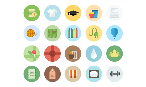 Flat-Category-Icons
