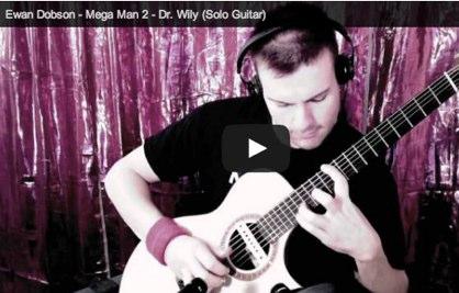 La canción de Mega Man 2 en un solo de guitarra | Punto Geek