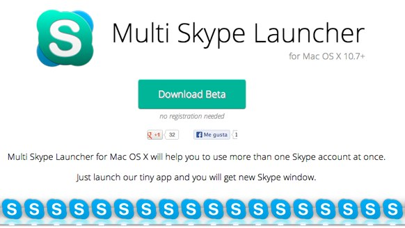 Multi Skype Launcher for Mac