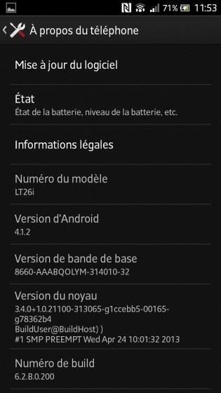 Nueva actualización para los Sony Xperia S