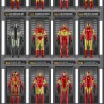 La evolución de los trajes de Iron Man [Imagen]