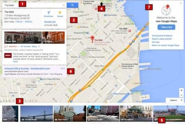 La actualización de Google Maps