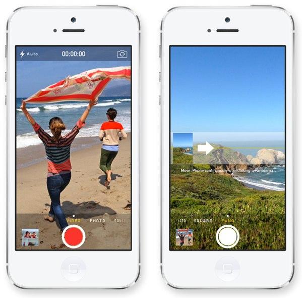 camara iOS 7
