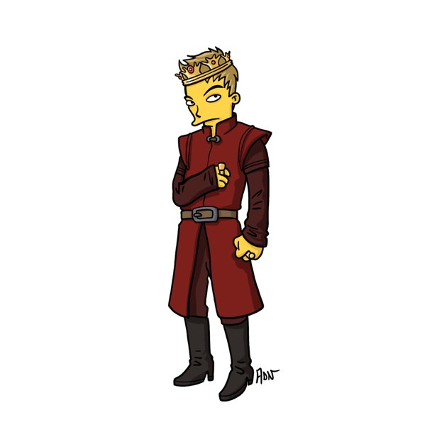 game of thrones simpsons 4