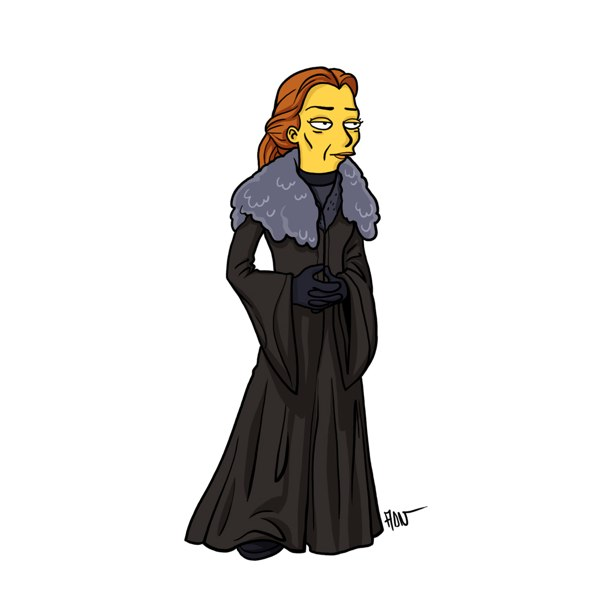 game of thrones simpsons 7
