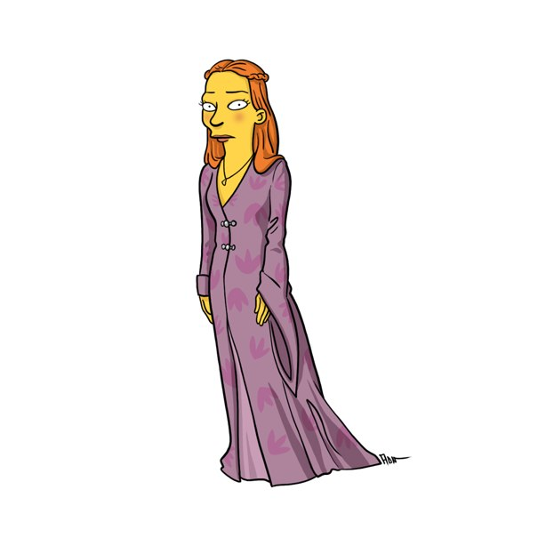 game of thrones simpsons 8