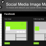 Crea fácilmente imágenes con dimensiones exactas para los perfiles en tus redes sociales