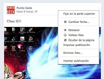 embeber facebook