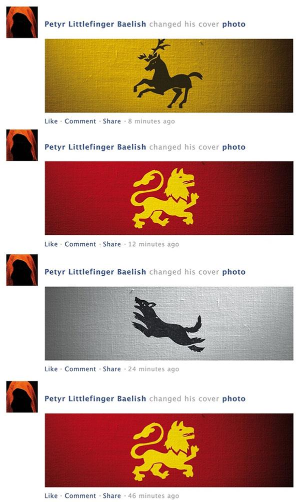 game of thrones facebook