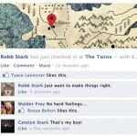 Si los personajes de Game of Thrones tuvieran Facebook…