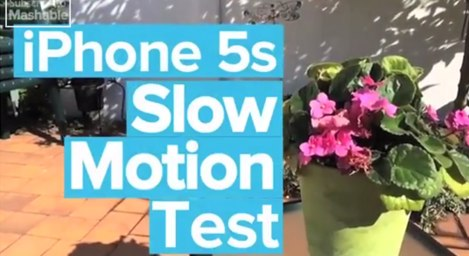 iphone 5s slow motion