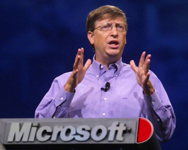Bill Gates en Microsoft