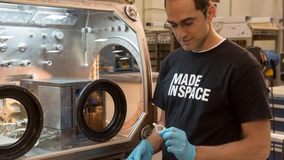 La impresora 3D de la NASA