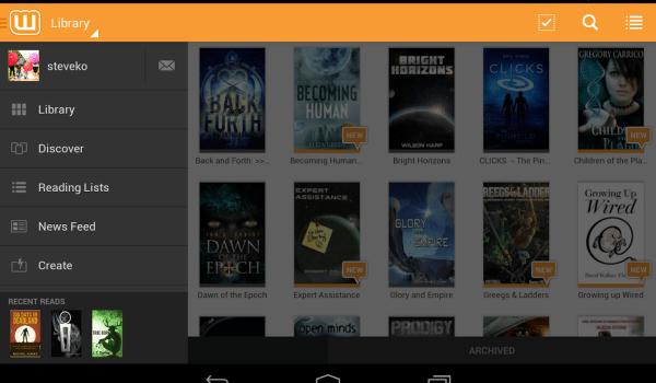 Aplicaciones para leer libros en Android