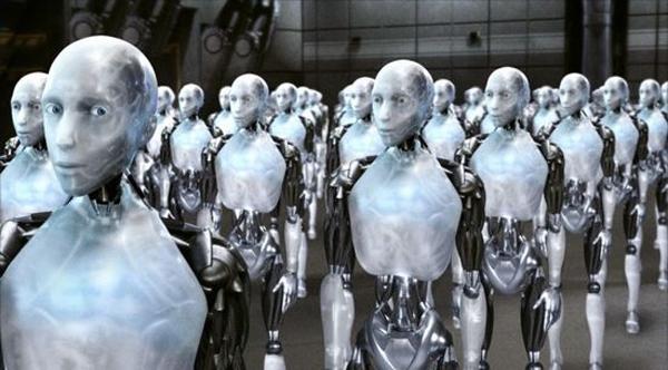 Robots en los puestos de trabajo