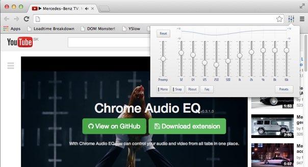 Chrome Audio EQ