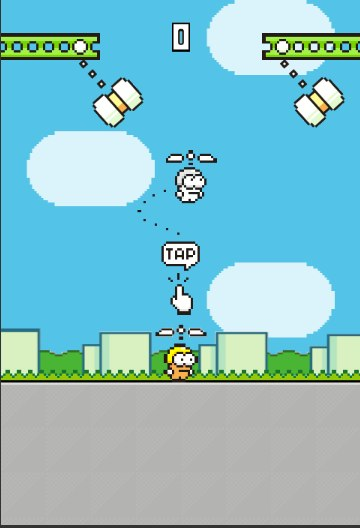 Play Swing Copters online