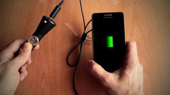 cargador casero smartphone