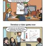Desarrollando juegos… antes y ahora [Humor]