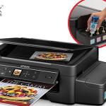 Esta impresora Epson tiene tinta para más de dos años