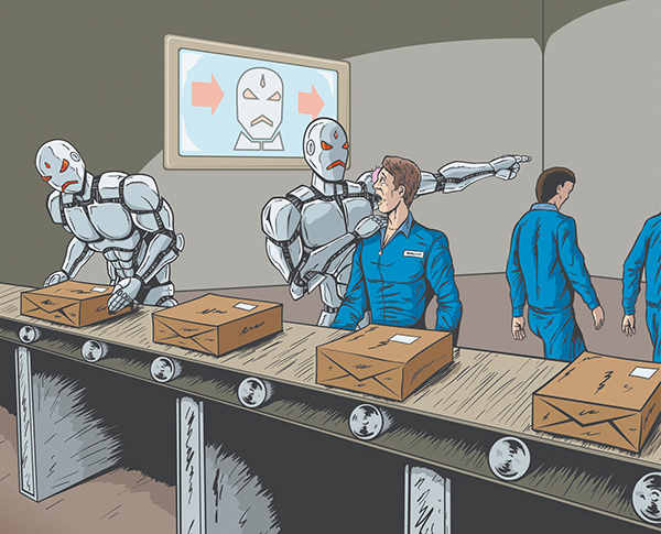 robots reemplazaran trabajadores