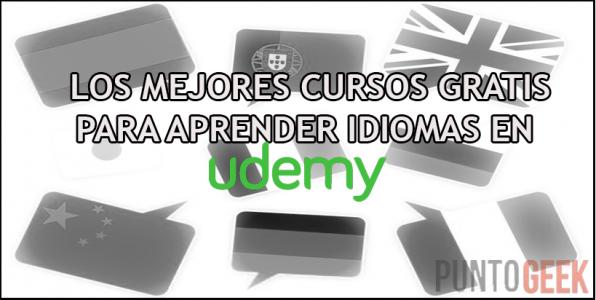 mejores cursos gratis para aprender idiomas en udemy
