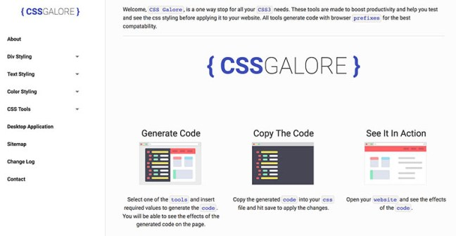 CSS Galore