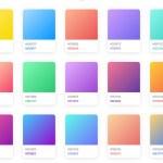 30 modelos de degradados en CSS para usar gratis en tus diseños