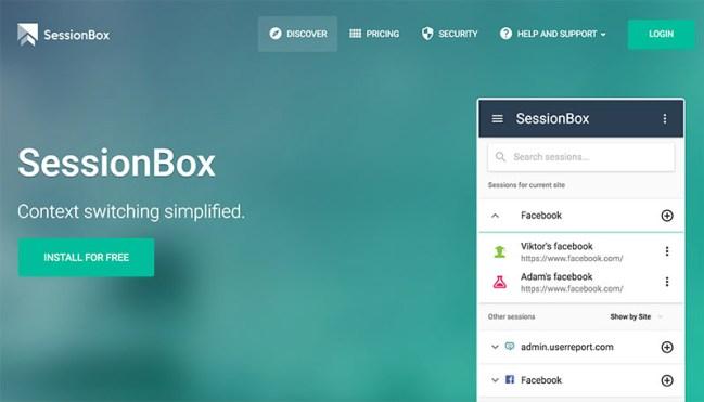 SessionBox