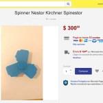 Spinestor, el fidget spinner con la cara de Néstor Kirchner (?)