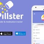 Mr. Pillster te recuerda cuando tenés que tomar tus pastillas y medicaciones