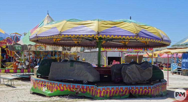 Instalan Juegos Mecanicos Y Avanzan Preparativos De La Feria Del