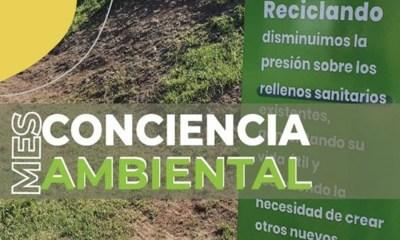 Arrancó el Mes de la conciencia ambiental en General Deheza.