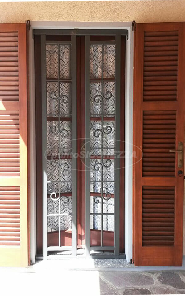 Inferriate scorrevoli per finestre porte  Prezzi su misura
