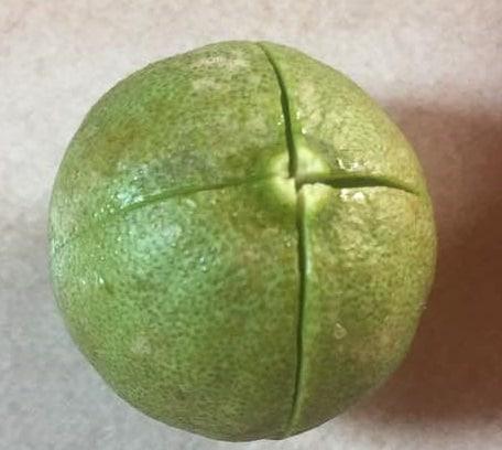 Resultado de imagen para limon cortado en cruz