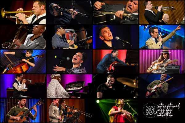 VIM INTERNATIONAL JAZZ DAY MARATHON: Una staffetta di concerti live selezionati dalle ultime otto stagioni di Visioninmusica per celebrare la Giornata Mondiale del Jazz