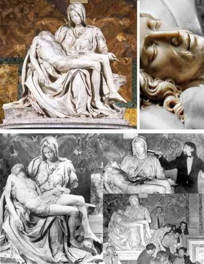CuriosArte: La Pietà, il folle e il dente in più di Cristo...