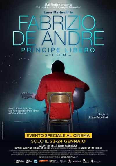 """Il film del giorno: """"Fabrizio De Andrè. Principe libero"""" (su Rai Premium)"""