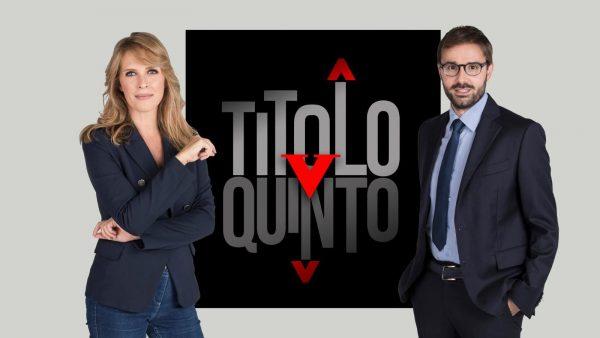 """Stasera in TV: A """"Titolo V"""" il toto-ministri per il governo Draghi - Su Rai3 con Francesca Romana Elisei e Roberto Vicaretti"""