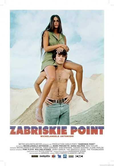 """Il film del giorno: """"Zabriskie Point"""" (su Iris)"""