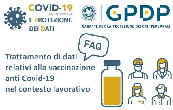Vaccinazione dei dipendenti. Le Faq del Garante Privacy