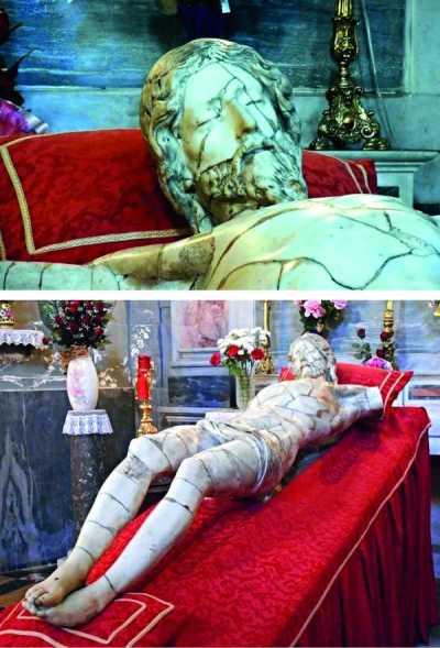 CuriosArte: Il riposo del Cristo scampato alle fiamme.