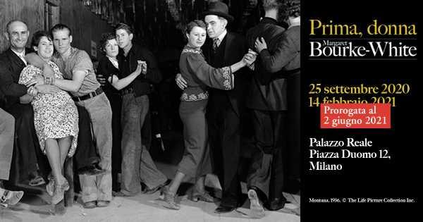"""Ulteriore proroga fino al 2 giugno per """"PRIMA, DONNA. MARGARET BOURKE-WHITE"""" - Palazzo Reale Milano"""