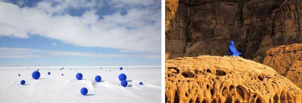 CuriosArte: 99 sfere blu e 99 stelle